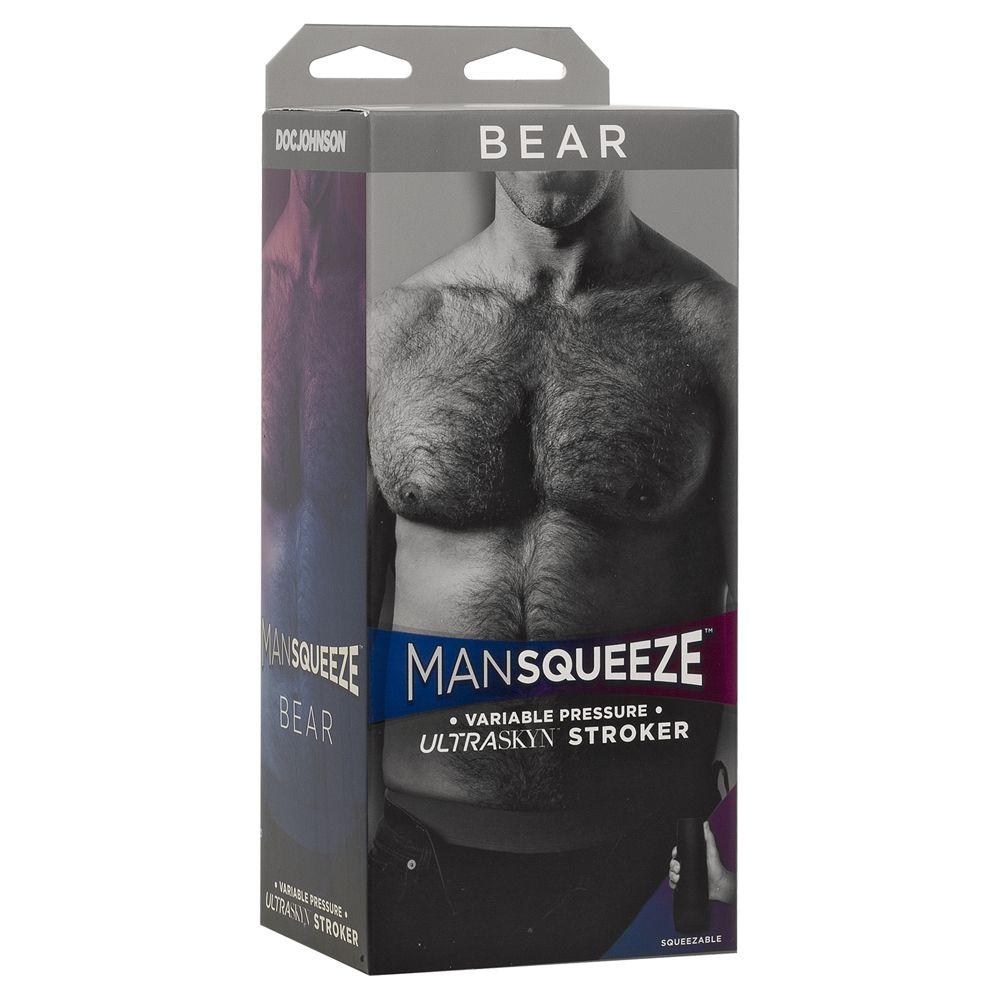 gay bear ass male masturbator