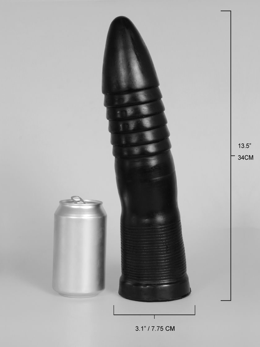 "Domestic Partner: Anal Torpedo Butt Plug (13.5"")"