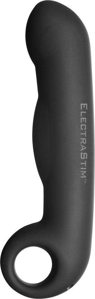 ElectraStim Silicone Noir Ovid Bi-Polar Electrosex Dildo