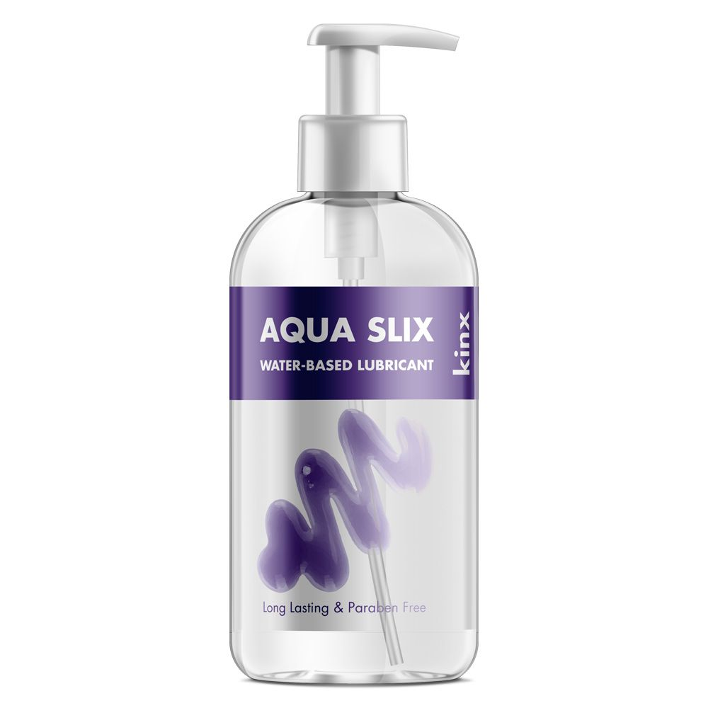 Kinx Aqua Slix Water Based Lubricant 250ml