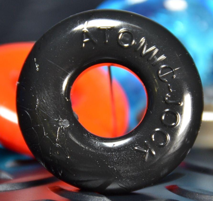 Oxballs Cock Ring Donut Ring Black