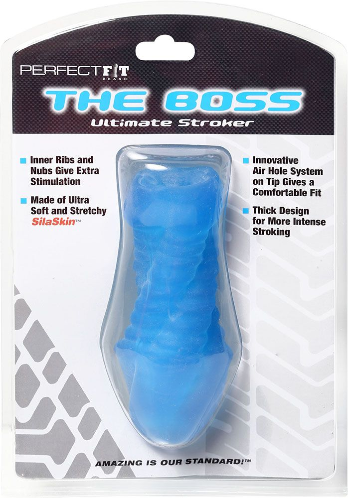 Perfect Fit The Boss SilaSkin Stroker