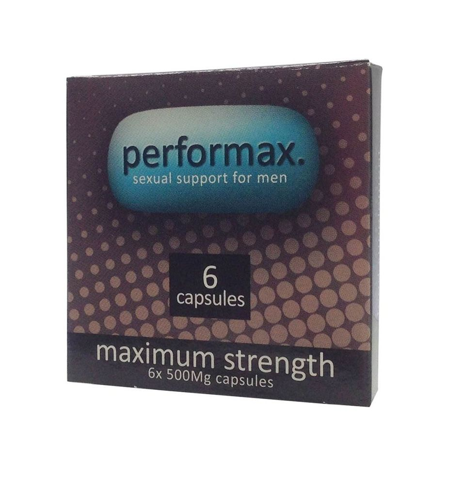 Performax: Maximum Strength Stimulant - 6 caps