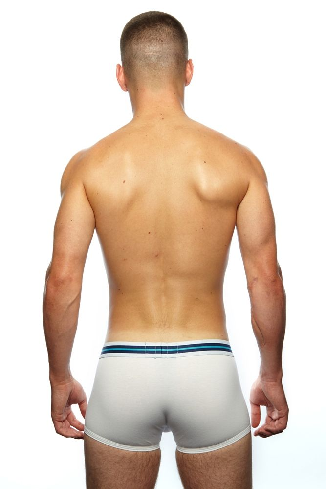 Prowler Sport Trunks White & Aqua
