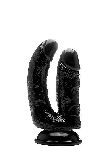 Black dildo double