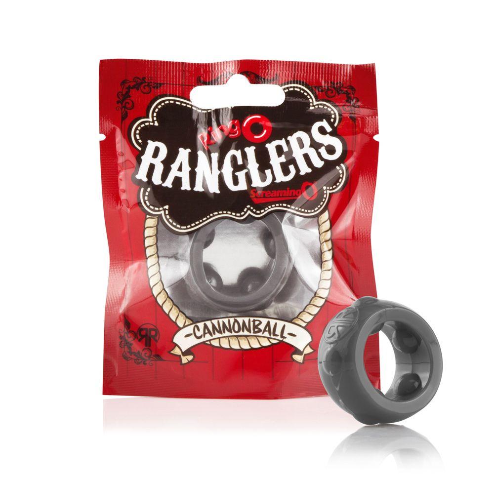 Screaming O RingO Rangler Cannonball Beaded Cock Ring