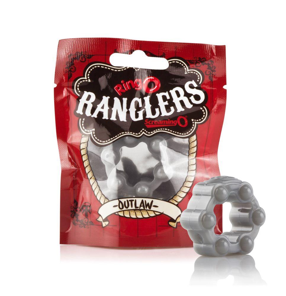 Screaming O RingO Rangler Outlaw Studded Cock Ring