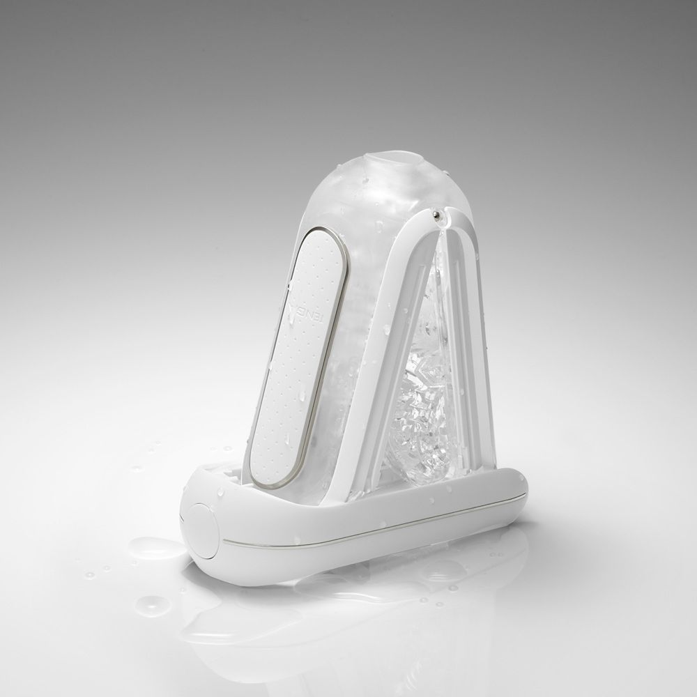 Tenga Flip 0 Electronic Vibration White Male Maturbator