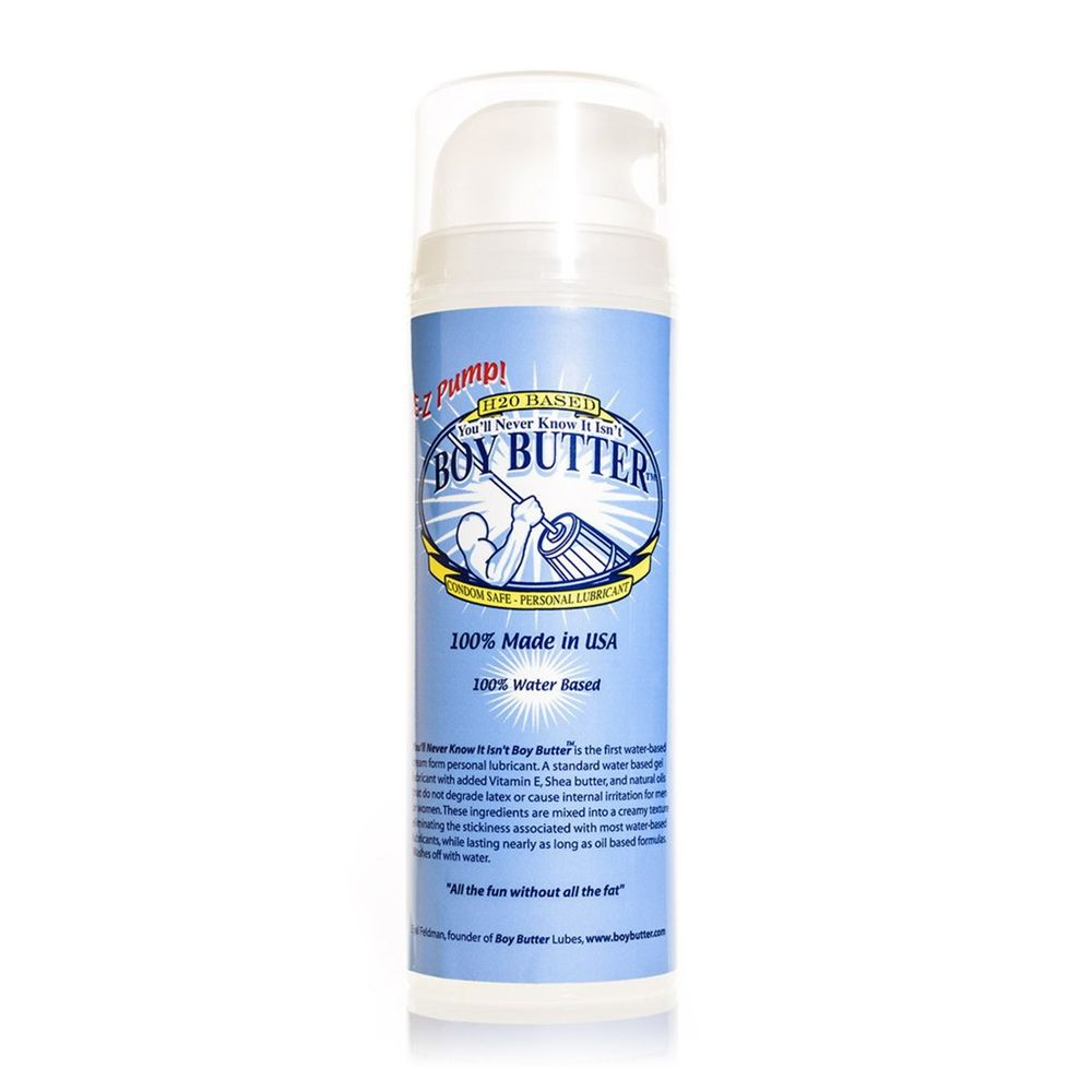 Boy Butter H2O Water Based Lube